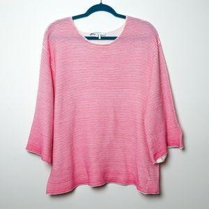 Foxcroft | Dolman Sleeve Ribbed Sweater 1x